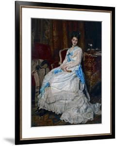 Portrait of Marquesa De Manzanedo, 1872 by Jean Louis Ernest Meissonier