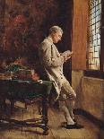 The Flute Player-Jean-Louis Ernest Meissonier-Giclee Print