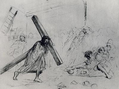 Christ Carrying the Cross, 1925