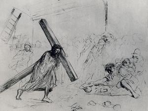 Christ Carrying the Cross, 1925 by Jean Louis Forain