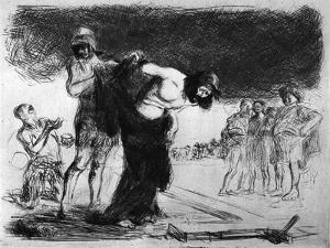 Christ Stripped of His Clothing, 1925 by Jean Louis Forain