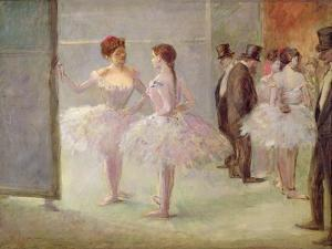 Dancers in the Wings at the Opera, C.1900 by Jean Louis Forain