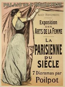 "Reproduction of a Poster Advertising ""La Parisienne Du Siecle"" by Jean Louis Forain"