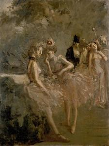 Scene in the Wings of a Theatre, C. 1870 - 1900 by Jean Louis Forain