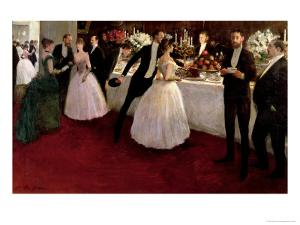 The Buffet, 1884 by Jean Louis Forain