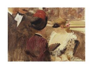 The Loge by Jean Louis Forain