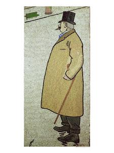 The Old Walker, circa 1900 by Jean Louis Forain
