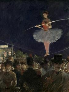 Tight-Rope Walker, C.1885 by Jean Louis Forain