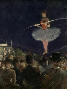 Tight-Rope Walker, C.1885 by Jean Louis Forain