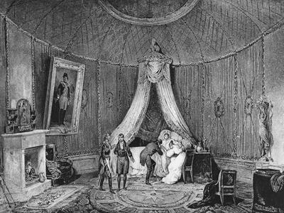 Death of Joséphine De Beauharnais on 29th May 1814, 1829