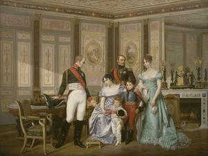 Limperatrice Josephine Recoit A La Malmaison Visite Du Tsar Alexandre Ier Qui Elle
