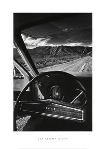 Dodge's Wheel (Death Valley, California, 1977) by Jean-Loup Sieff