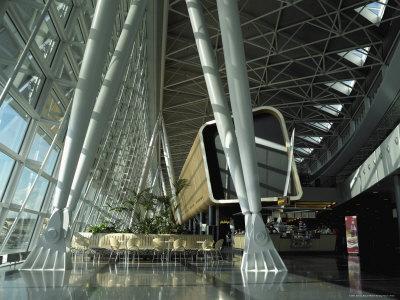 Departure Lounge, Zurich Airport, Switzerland