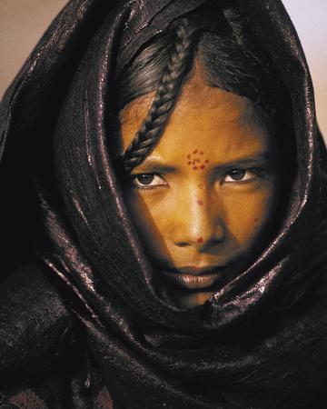 Young Taureg Woman Niger