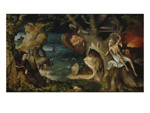 The Temptation of St. Anthony by Jean Mandyn