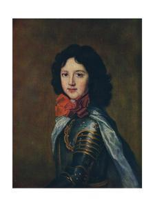 'A Prince of France', cearly 18th century, (1910) by Jean-Marc Nattier