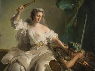 Allegory of Justice Combating Injustice