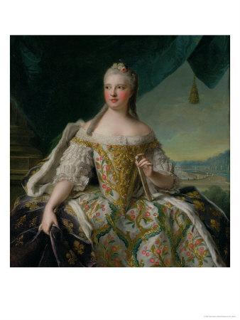 Dauphine Marie-Josephe De Saxe (1731-67) 1751