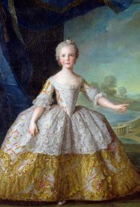 Infanta Isabelle de Bourbon-Parme 1749 by Jean-Marc Nattier