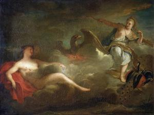 Jupiter, Juno and Io, 1710s by Jean-Marc Nattier