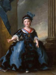 Louis Joseph Xavier, Duke of Burgundy (1751-176) by Jean-Marc Nattier