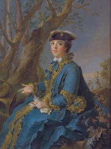 Louise Élisabeth of France (1727-175), Duchess of Parma, 1760 by Jean-Marc Nattier