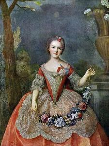 Madame De Beaujolais, 18th Century by Jean-Marc Nattier