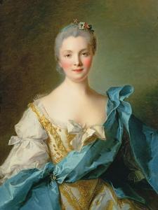 Madame De La Porte by Jean-Marc Nattier