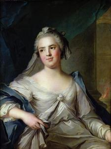 Madame Henriette as a Vestal Virgin, 1751 by Jean-Marc Nattier