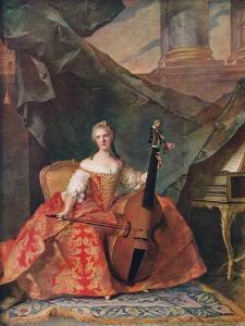 'Madame Henriette, Daughter of Louis XV', 1742, (1912) by Jean-Marc Nattier