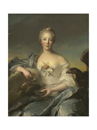 Madame Le Fevre De Caumartin as Hebe, 1753