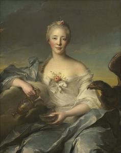 Madame Le Fevre De Caumartin as Hebe, 1753 by Jean-Marc Nattier