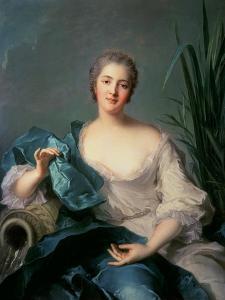 Madame Marie-Henriette Berthelot De Pleneuf by Jean-Marc Nattier