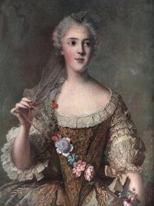 Madame Sophie, Daughter of Louis XV, 1909 by Jean-Marc Nattier