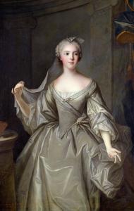 Madame Sophie de France as a Vestal Virgin by Jean-Marc Nattier
