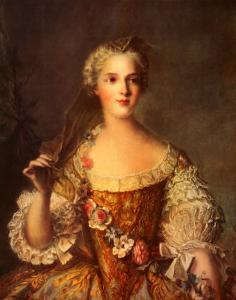 Madame Sophie de France by Jean-Marc Nattier