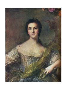 'Madame Victoire', 1748 by Jean-Marc Nattier