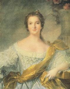 Madame Victoire de France by Jean-Marc Nattier