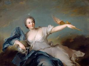 Marie-Anne De Nesle, Marquise De La Tournelle, Duchesse De Châteauroux (1717-174) by Jean-Marc Nattier