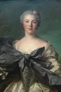 Marie Françoise De La Cropte De St. Abre, Marquise D'Argence by Jean-Marc Nattier