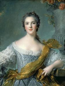 Marie Louise Thérèse Victoire of France (1733-179) by Jean-Marc Nattier