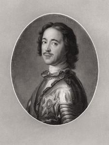 Peter the Great, Tsar of Russia by Jean-Marc Nattier