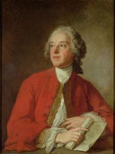 Pierre Augustin Caron De Beaumarchais by Jean-Marc Nattier