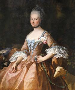 Portrait de Marie-Adelaide de France by Jean-Marc Nattier