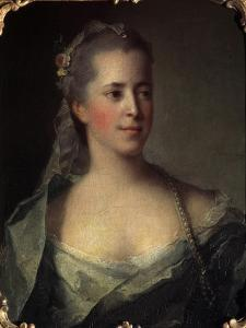 'Portrait of a Lady', 1757 by Jean-Marc Nattier