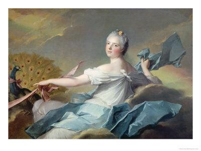 Portrait of Adelaide de France, as the Element Air
