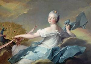Portrait of Adelaide de France, as the Element Air by Jean-Marc Nattier