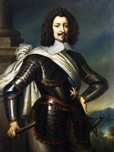 Portrait of Charles De Guise or Charles of Lorraine by Jean-Marc Nattier