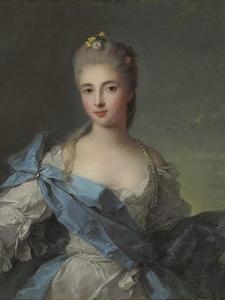 Portrait of Duchesse De La Rochefoucauld by Jean-Marc Nattier