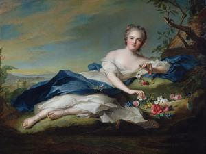 Portrait of Henriette De France, C.1742 by Jean-Marc Nattier